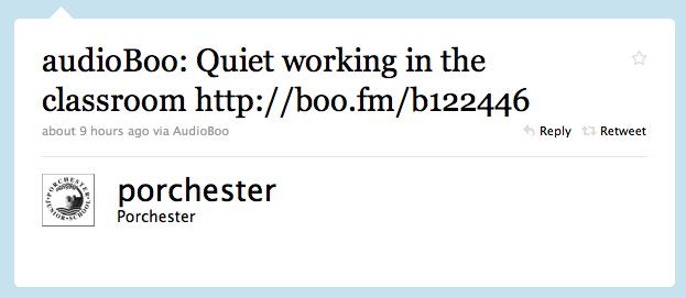 Twitter _ Porchester_ audioBoo_ Quiet working in ...