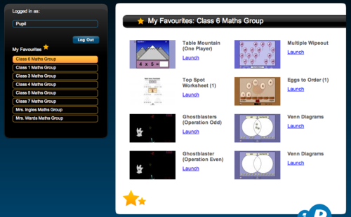 Interactive Resources - My Favourites