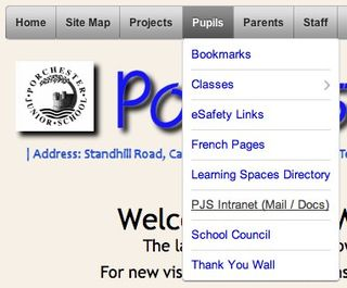 Porchester Junior School Website
