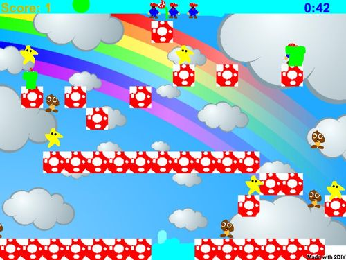Mario in the clouds sondil.swf-1